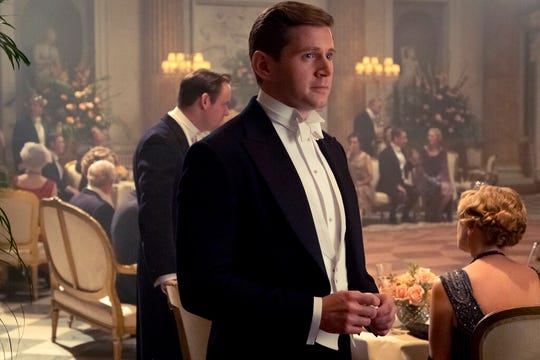 "Allen Leech stars as Tom Branson in ""Downton Abbey."" The film is playing at Regal West Manchester, Frank Theatres Queensgate Stadium 13 and R/C Hanover Movies."
