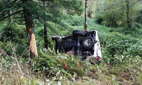 A Newport woman died in a crash on Highway 20 Tuesday, September 18, 2019.