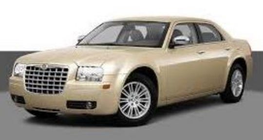 Missing person Clara Mae Braun, 87, may be driving a beige Chrysler 300 like the one pictured.