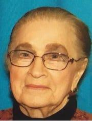 Clara Mae Braun, 87, has been missing from Buffalo, South Dakota since Monday, Sept. 16, 2019.
