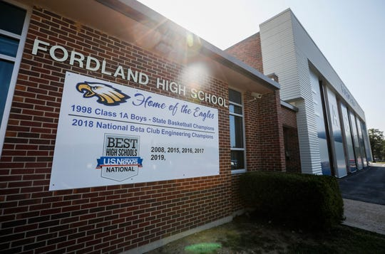 Fordland High School and Middle School are located at 1230 School St. in Fordland.