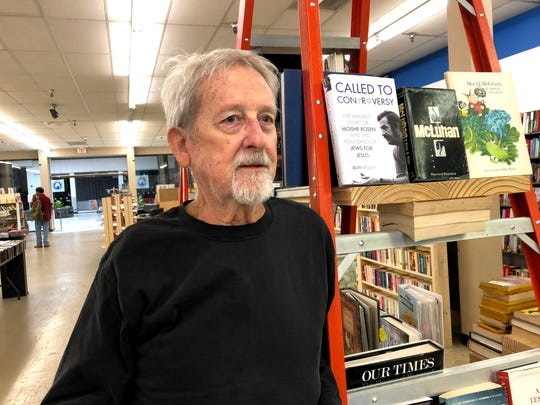 Bill Burruss of Know Knew Books, which just opened up in Staunton Mall next to JC Penney. The bookstore offers discount books, magazines, CDs, DVDs and more.