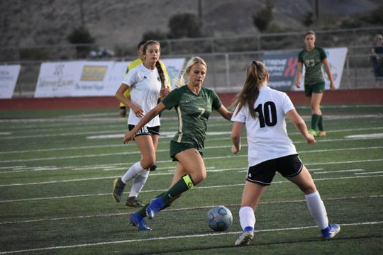 Snow Canyon's Heidi Smith has helped the Warriors rebound from a slow start with 14 goals in 10 games.