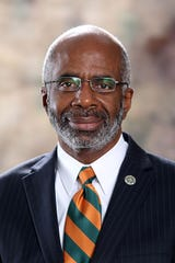 Dr. Larry Robinson, president of Florida A&M University