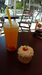 Passion fruit tea with coconut jelly was extremely refreshing and very scrumptious at Bubble House.
