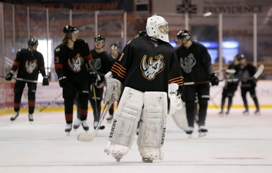 The El Paso Rhinos are shown ready to defend their Thorne Cup-winning season in 2019 with exhibition games against Mexico. The Rhinos returned eight players from their championship season.
