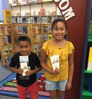 Kenji Dominguez, 7, and Mimzy Dominguez, 11, of Bridgeton, was among the grand prize winners for Cumberland County Library's summer reading program. They each won a ticket to sail, with a parent or guardian, on the AJ Meerwald.