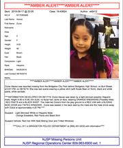 Amber Alert issued for Dulce Alvarez
