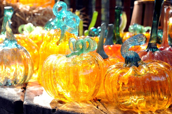 More than 6,000 glass pumpkins will be featured in Wheaton Arts and Cultural Center's Glass Pumpkin Patch during the Festival of Fine Craft from 10 a.m. to 5 p.m. Oct. 5 and 6, rain or shine, in Millville.