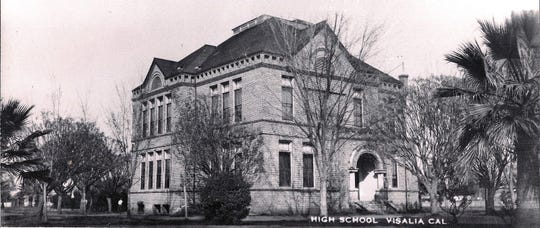 Oval Park was home to Visalia's first high school, built in 1897 and pictured here. The Tulare County Office of Education plans to return the park to its original purpose with a new pre-school, if the project is approved for $4 million in federal grants.