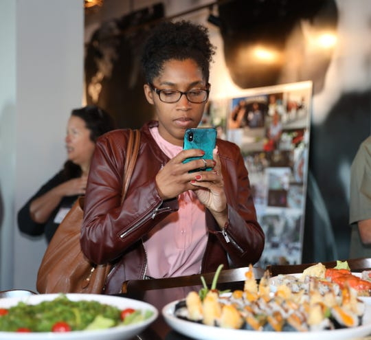 The fifth lohudfood on location photography event at ISO Japanese Cuisine in Yonkers on Sept. 17, 2019. Twenty participants were guided in the art of food photography by the photo staff at The Journal News and lohud.com with wonderful preparations of Japanese dishes by the restaurant staff.