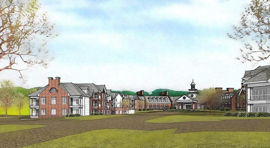 A drawing of the $70 million expansion planned at the Country House retirement community. The first phase of construction is set to begin in September.