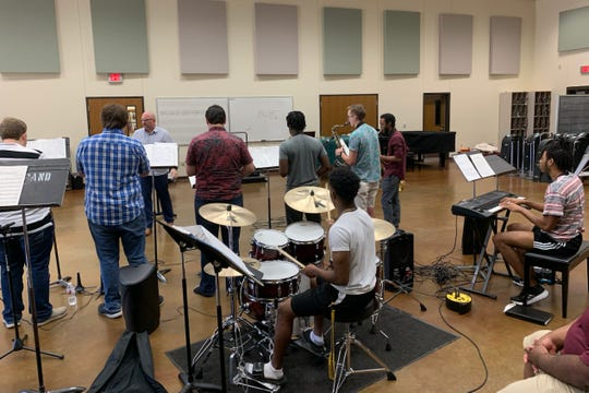 The Midwestern State University Jazz Ensemble will perform at noon as well as 7:30 p.m. today under the Priddy Pavilion at the Wichita Falls Museum of Art at MSU, the popular ensemble's first shows of the 2019-20 MSU year.