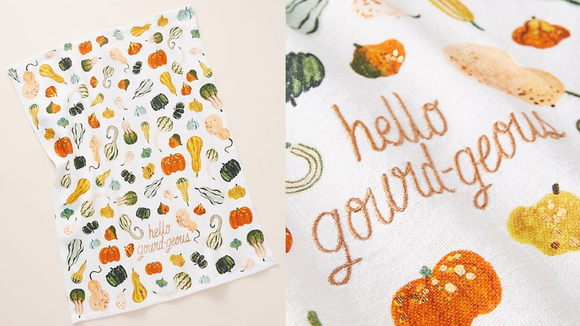 Dish towels don't have to be boring...