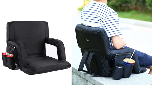 Rainy day? No problem—the seat is water-resistant.