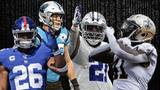 SportsPulse: Zeke? Barkley? Kamara? Who's the best running back in the game today? Former New York Giant RB Tiki Barber ranks his top five and the list will surprise you.