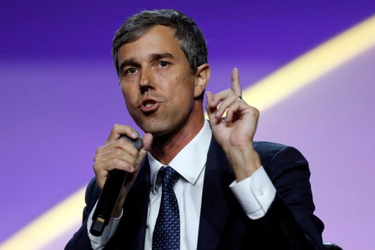 Democratic presidential candidate Beto Rourke