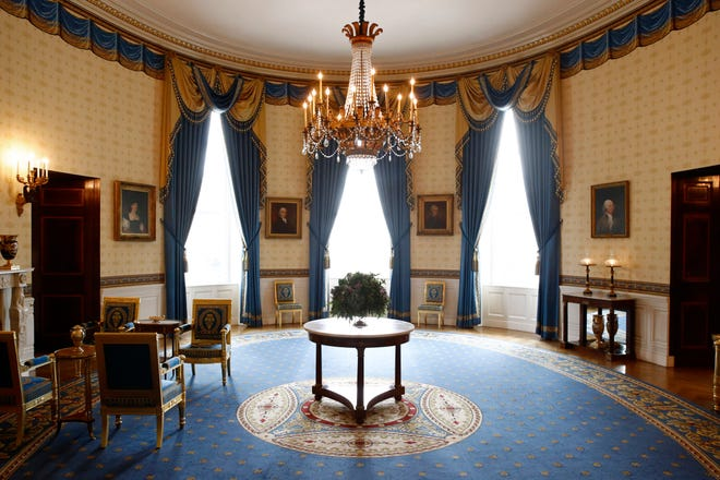 Melania Trump White House Decor