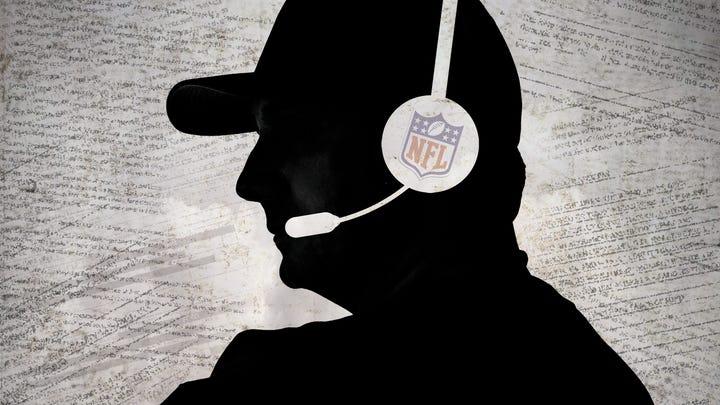 NFL coach silhouette