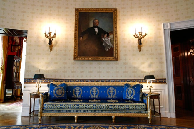Melania Trump White House Decor Upgrades First Lady Refreshes Rooms