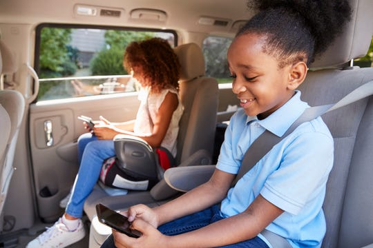 Kids will typically need a booster seat until they reach at least 4 feet 9 inches in height and are 8 to 12 years old.