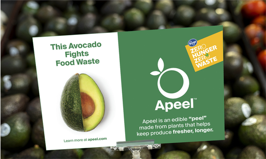 Kroger will soon sell Apeel avocados in all of its stores.