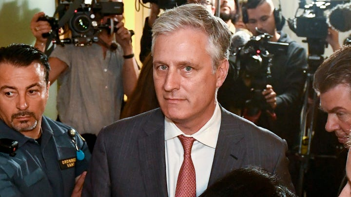 U.S. Special Envoy Ambassador, arrives at the district court where U.S. rapper A$AP Rocky is to appear on charges of assault, in Stockholm, Sweden, on July 30, 2019.