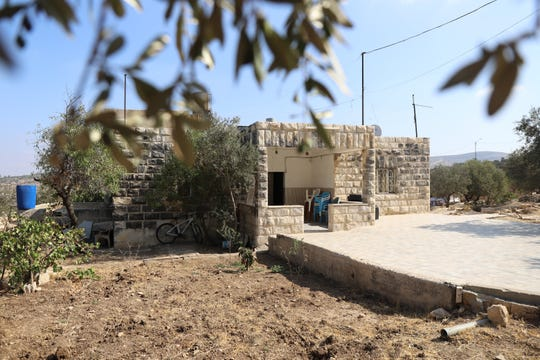 Muftiya Tlaib' s home in the West Bank village of Beit Ur al-Faqua, on Sept. 10, 2019.