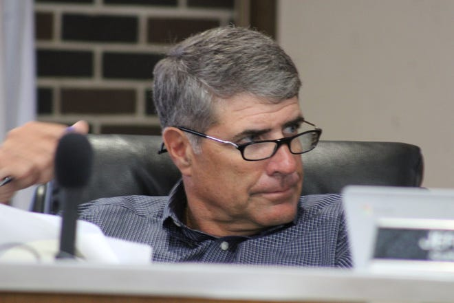 Rapides Parish School Board member Keith Breazeale had questions about a motion that could add an extra $25,000 to the maintenance funds of District 62 schools. He voted for the proposal, which now heads to the full board.