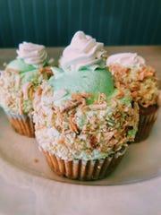Key lime cupcakes at Papa Ganache, a vegan and gluten-free bakery in Matawan.