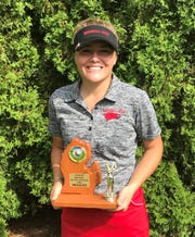 Marie Mathieu has been a top performer for the state-ranked Marshall golf team this season.