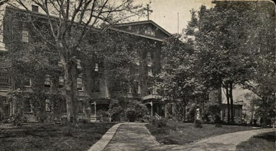 A postcard of St. Mary's Orphanage from about 1900.