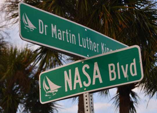 Thursday, Melbourne leaders renamed Airport Boulevard as Dr. Martin Luther King Jr. Boulevard during a street renaming ceremony.