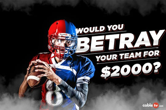 Is it worth betraying your favorite NFL team for $2,000?