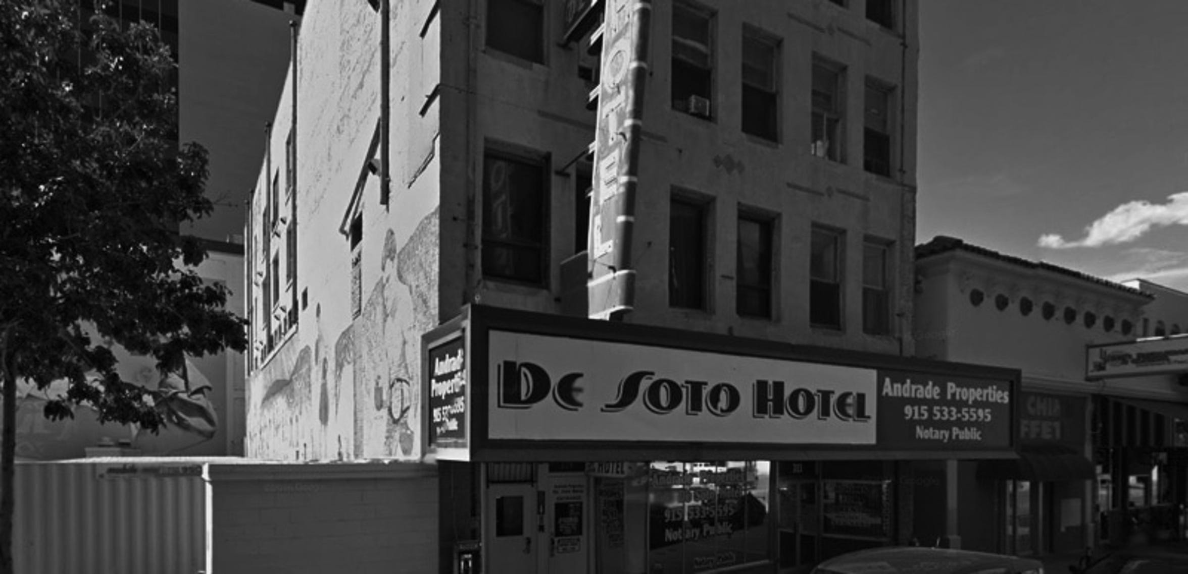 The De Soto Hotel in El Paso