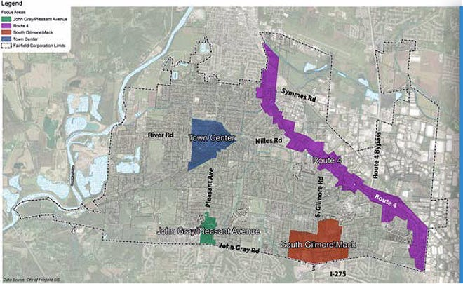 Fairfield is in the midst of an update to the city's comprehensive plan.