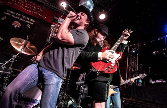 The AC/DC tribute band Thuderstruck will perform at Downtown @ Sundown in Clarksville this weekend.
