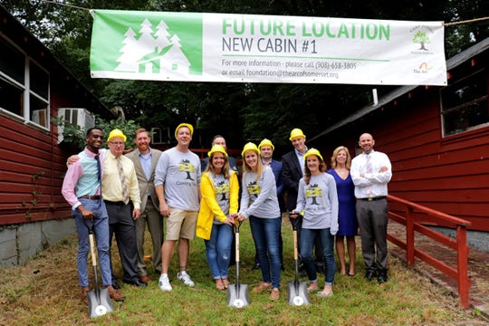 The Arc of Somerset County had a groundbreaking last week for renovations at Camp Jotoni, a day and residential camp for children and adults with intellectual, developmental and physical disabilities