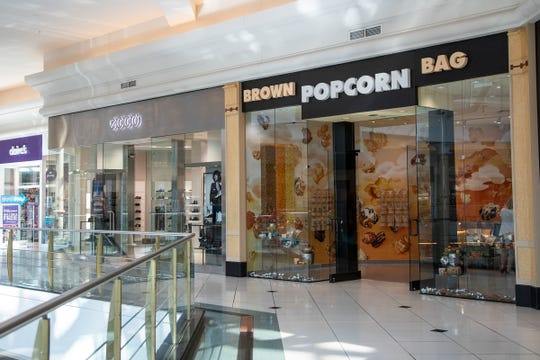 Brown Bag Popcorn at Somerset Collection Mall in Troy, Thursday, September 19, 2019.