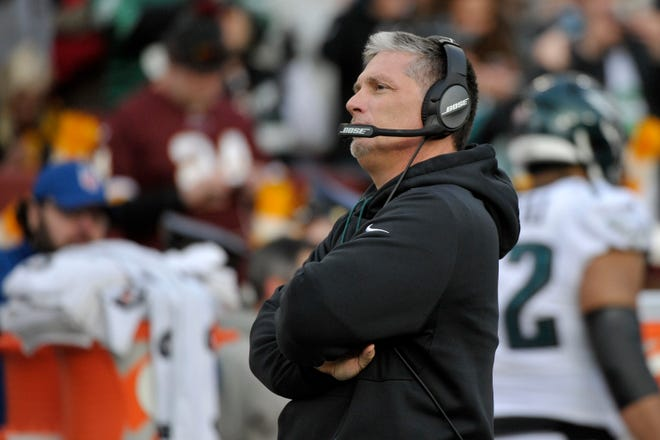 Eagles defensive coordinator Jim Schwartz will face the Lions for the third time since he was fired as head coach in 2013.