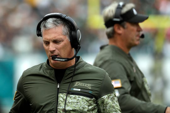 Eagles defensive coordinator Jim Schwartz was the Lions head coach from 2009-13.