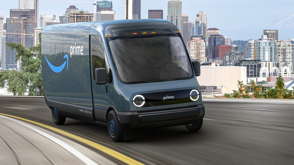 Amazon deal with Michigan startup Rivian is biggest EV order ever