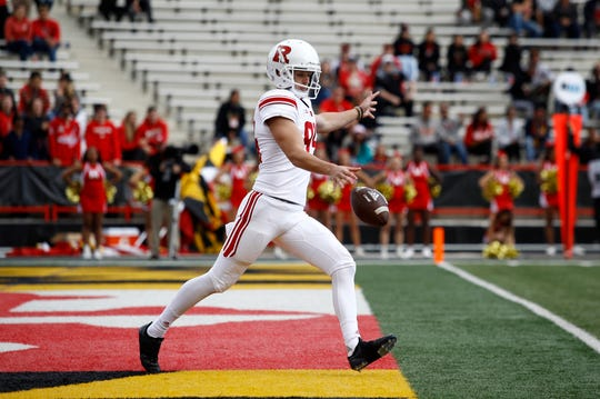 Rutgers punter Adam Korsak is a former Australian rules football player who trained at ProKick Australia before coming to the United States.