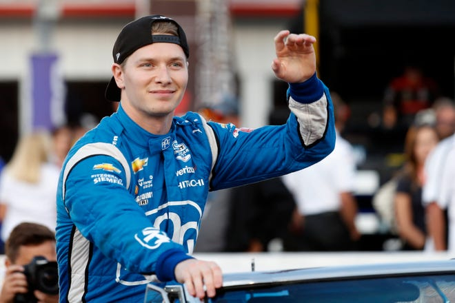 Josef Newgarden can win his second IndyCar championship in three years in the season finale at historic Laguna Seca on Sunday.