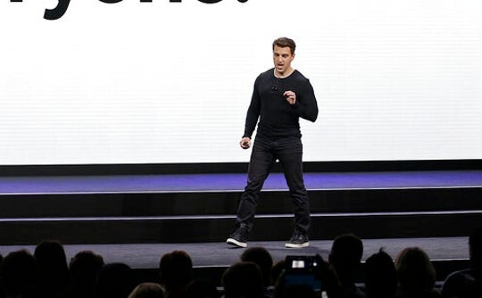 In this Feb. 22, 2018, file photo, Airbnb co-founder and CEO Brian Chesky speaks during an event in San Francisco. Home-sharing company Airbnb Inc. says it will go public in 2020. It's a long-awaited move for the company, which was founded in 2008 in San Francisco.