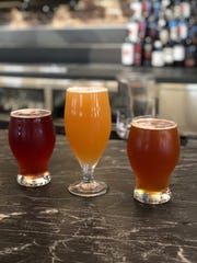 Smith & Co. is the only place to get Nain Rouge Brewery's beers right now. Here is the Detroit Hibiscus Wheat, Confus Guava IPA and the 644 Amber.