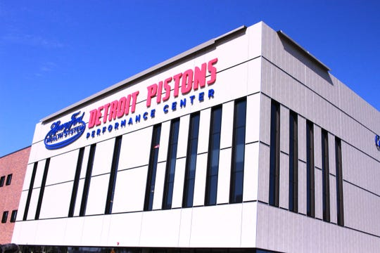 The new specialty sports medicine center is part of the broader Henry Ford-Detroit Pistons Performance Center.