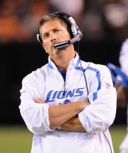 Jim Schwartz finished with a winning record once in five seasons with the Lions.