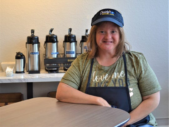 Emily Kehlmeier has been employed for years, but her recent acquisition of a job at Christy's Corner Café will give her a greater opportunity to showcase her potential. Kehlmeier  has a variety of jobs at the café, including making specialty coffees and serving customers.