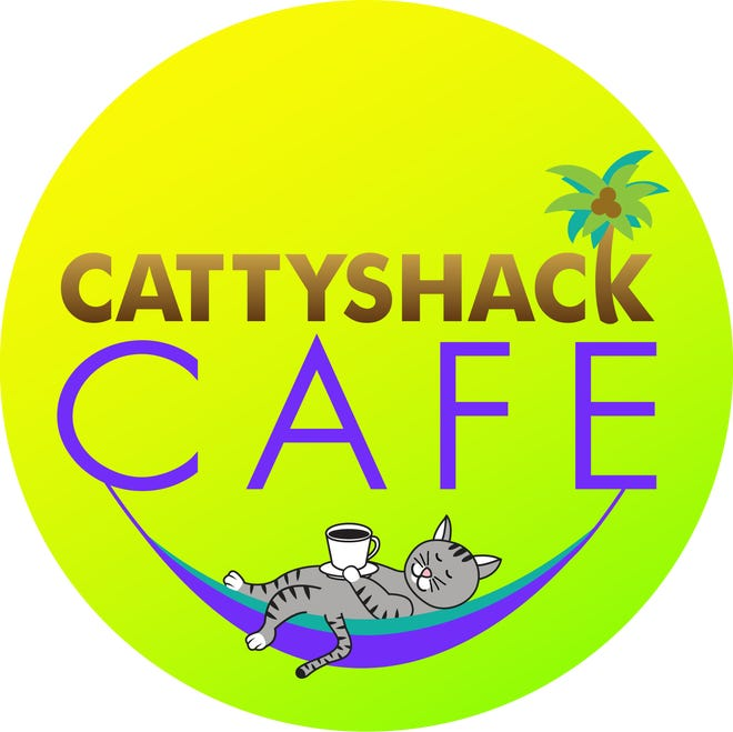 The logo for Cattyshack Cafe, a new cat cafe coming to Gulf Coast Town Center